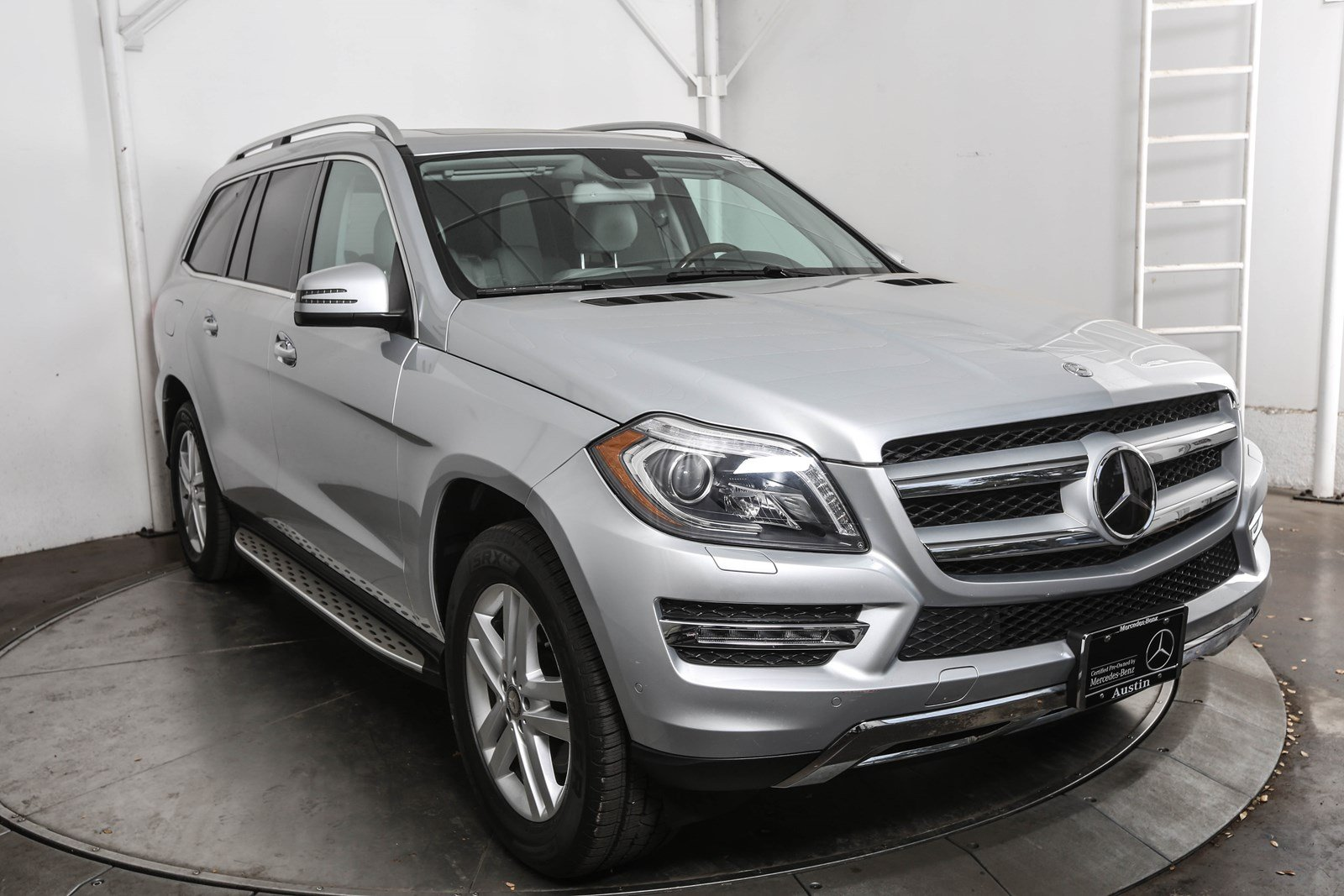 Certified Pre-Owned 2015 Mercedes-Benz GL-Class GL 350