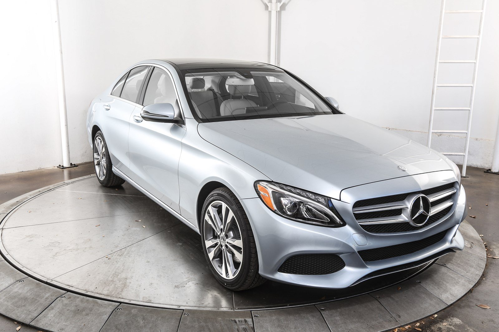 Certified pre owned 2017 mercedes benz c class c 300 sedan for Mercedes benz c class pre owned
