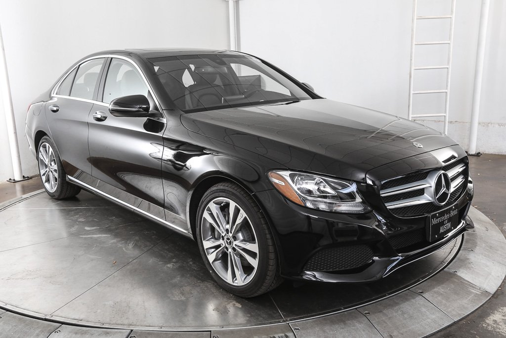 Pre owned 2018 mercedes benz c class c 300 4d sedan in for Mercedes benz 300 price