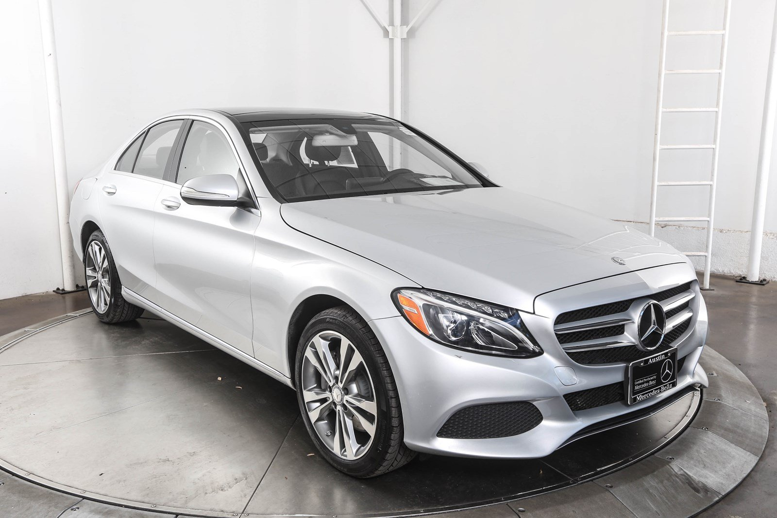 Certified Pre Owned 2015 Mercedes Benz C Class C 300