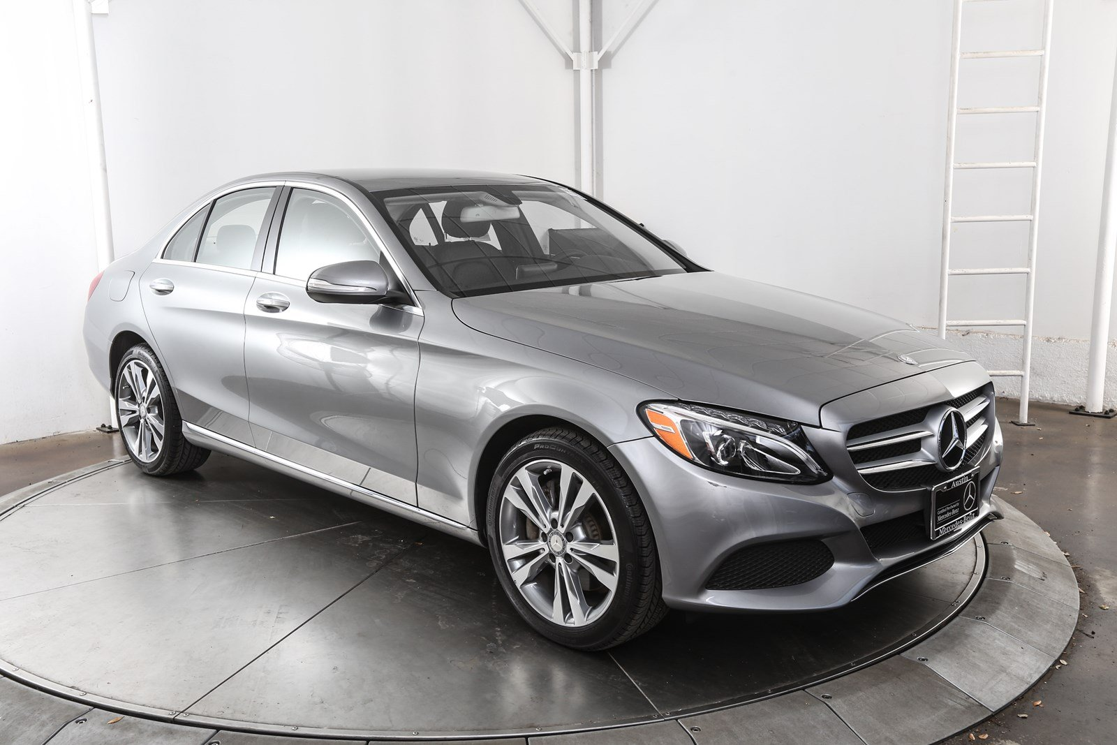 Certified pre owned 2015 mercedes benz c class c 300 4d for Mercedes benz c class pre owned