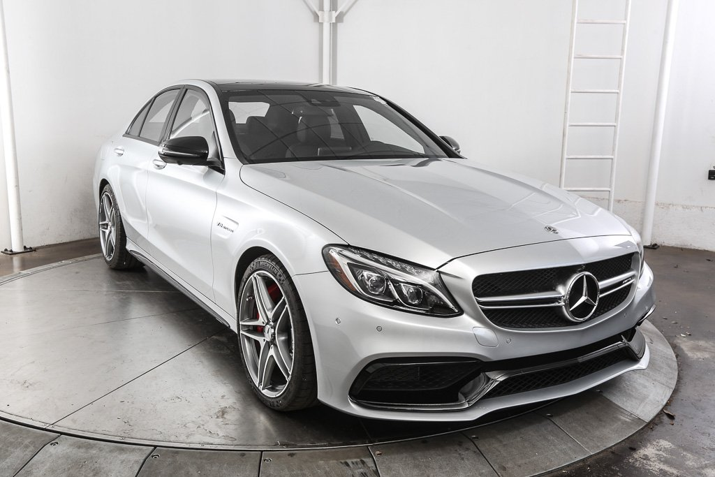 New 2018 mercedes benz c class amg c 63 s sedan sedan in for Mercedes benz c service cost