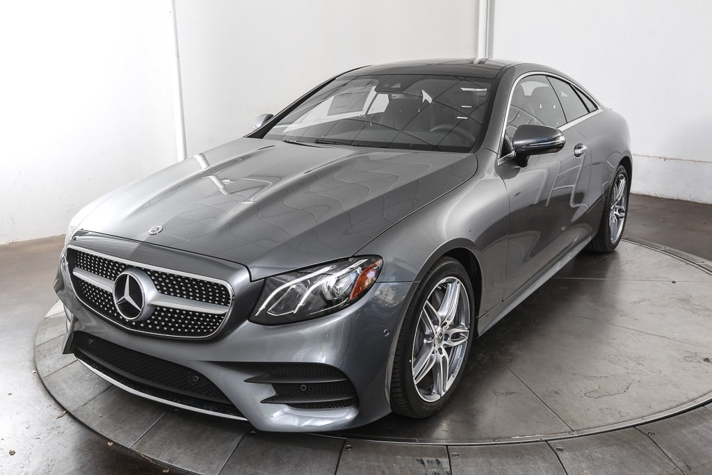 New 2018 mercedes benz e class e 400 sport coupe in austin for Mercedes benz of austin