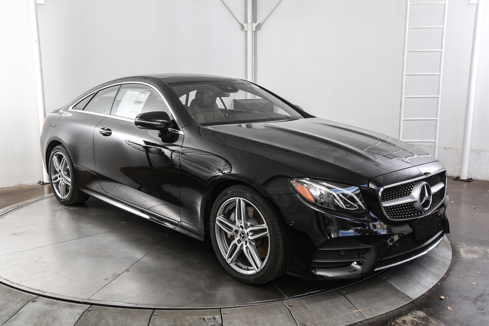 New 2018 mercedes benz e class e 400 2d coupe in austin for Mercedes benz b3 service