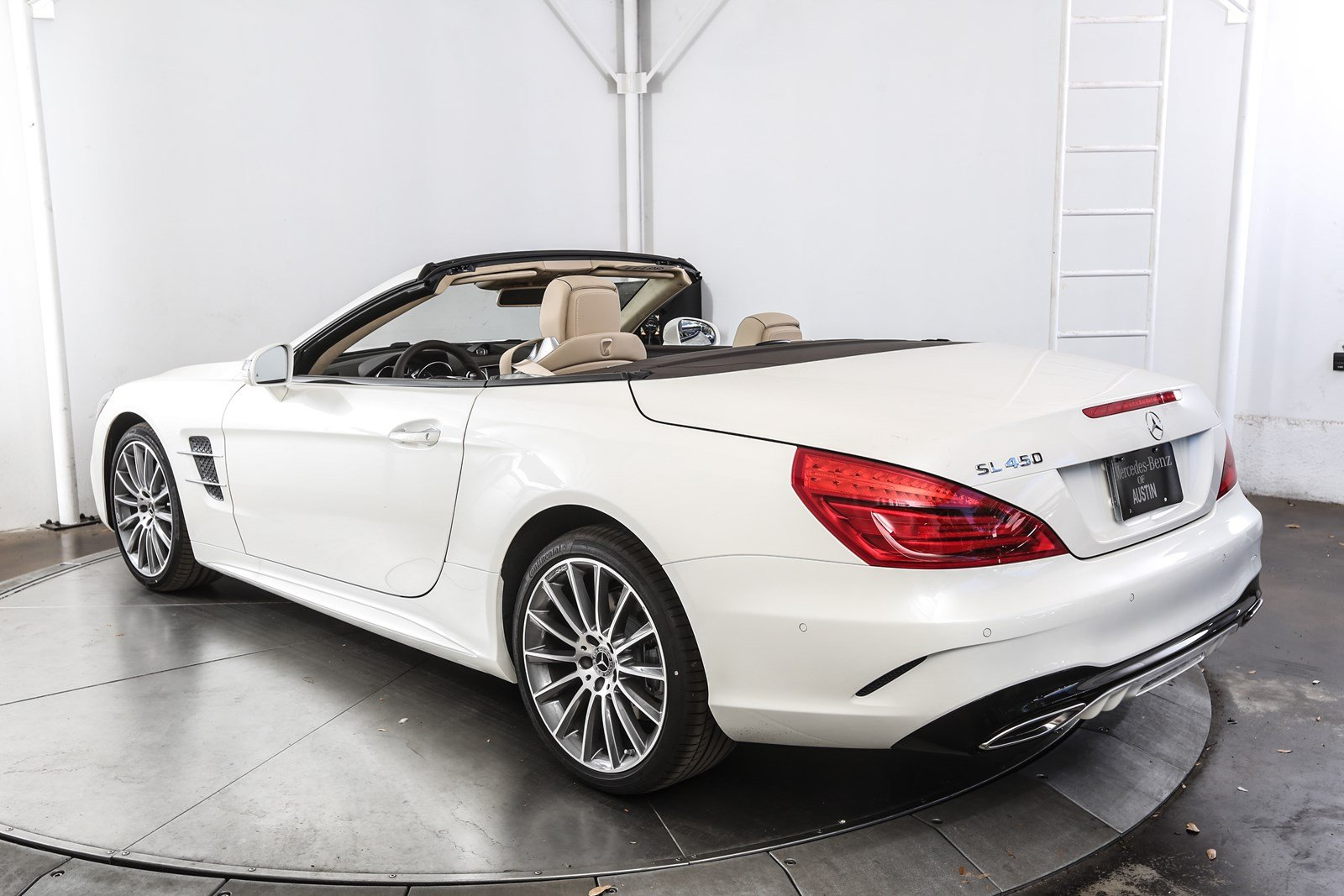 New 2018 mercedes benz sl class sl 450 roadster in austin for New mercedes benz convertible
