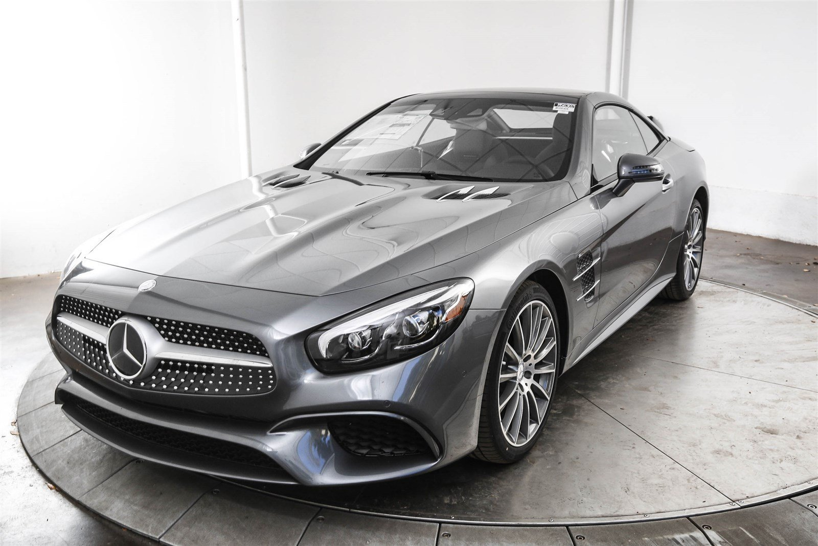 new 2017 mercedes benz sl class sl 450 roadster in austin m56302 mercedes benz of austin. Black Bedroom Furniture Sets. Home Design Ideas