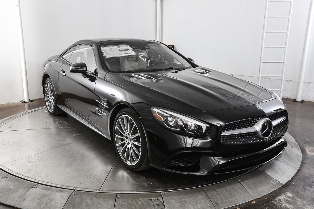 new 2018 mercedes benz sl class sl 550 roadster in austin m57668 mercedes benz of austin. Black Bedroom Furniture Sets. Home Design Ideas