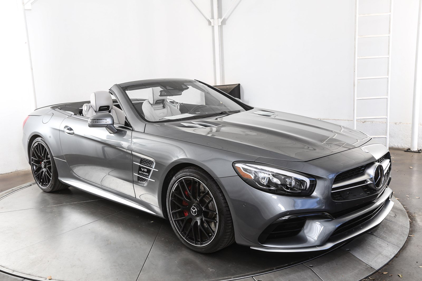 Certified pre owned 2017 mercedes benz sl class sl 63 amg for Mercedes benz pre owned vehicles