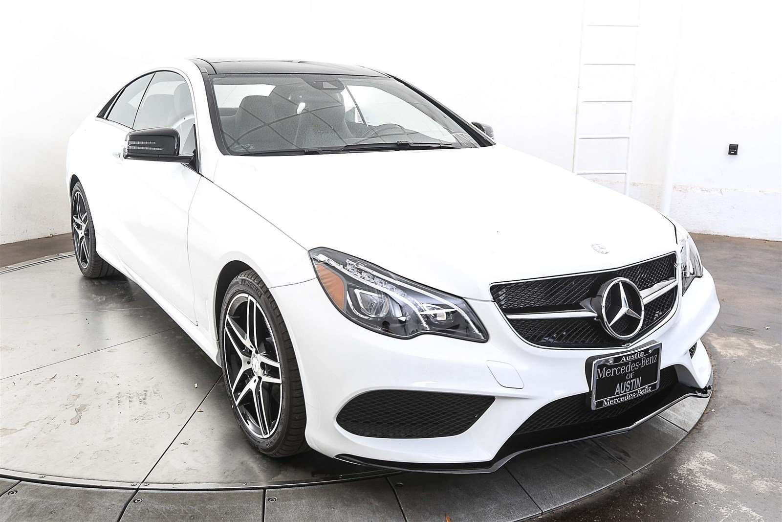 Pre owned 2017 mercedes benz e class e 400 coupe in austin for Pre owned e class mercedes benz
