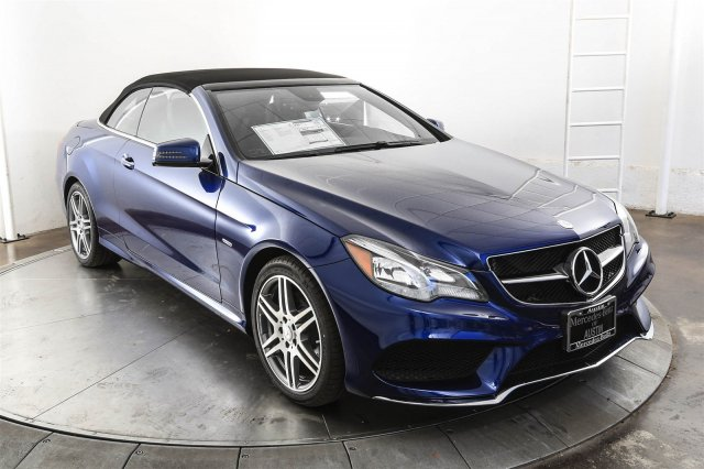 New 2017 Mercedes Benz E Class E400 Sport Cabriolet In