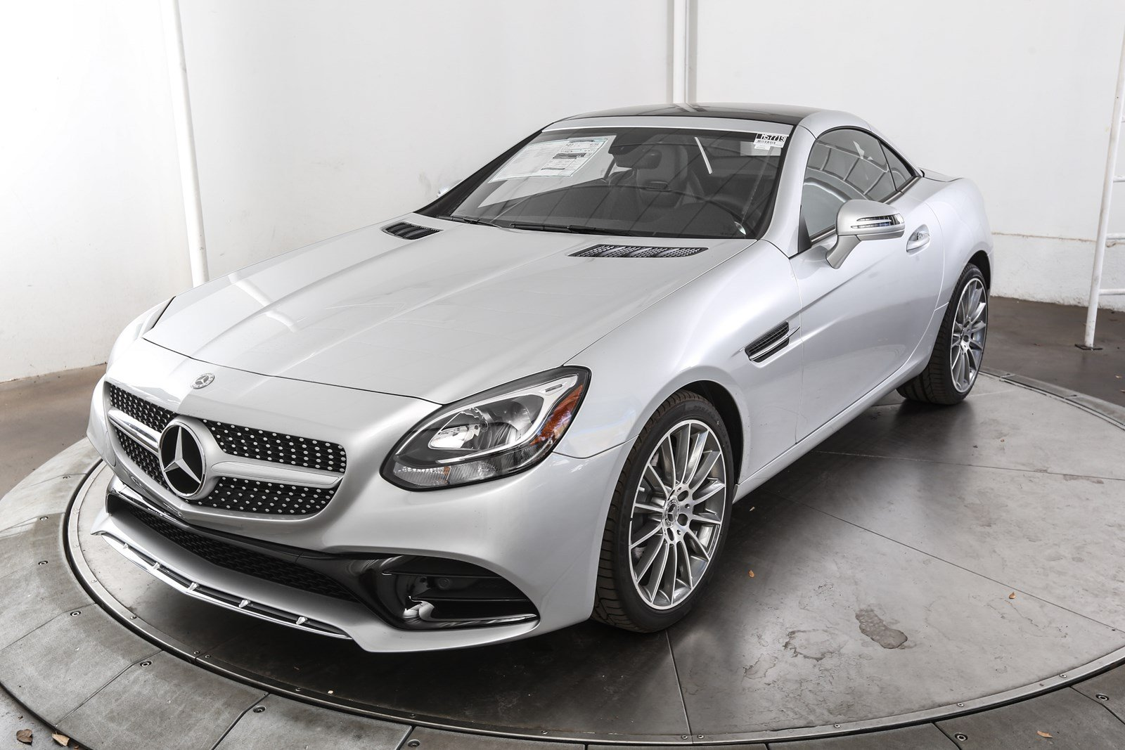 New 2018 mercedes benz slc slc 300 2d convertible in for Slc mercedes benz