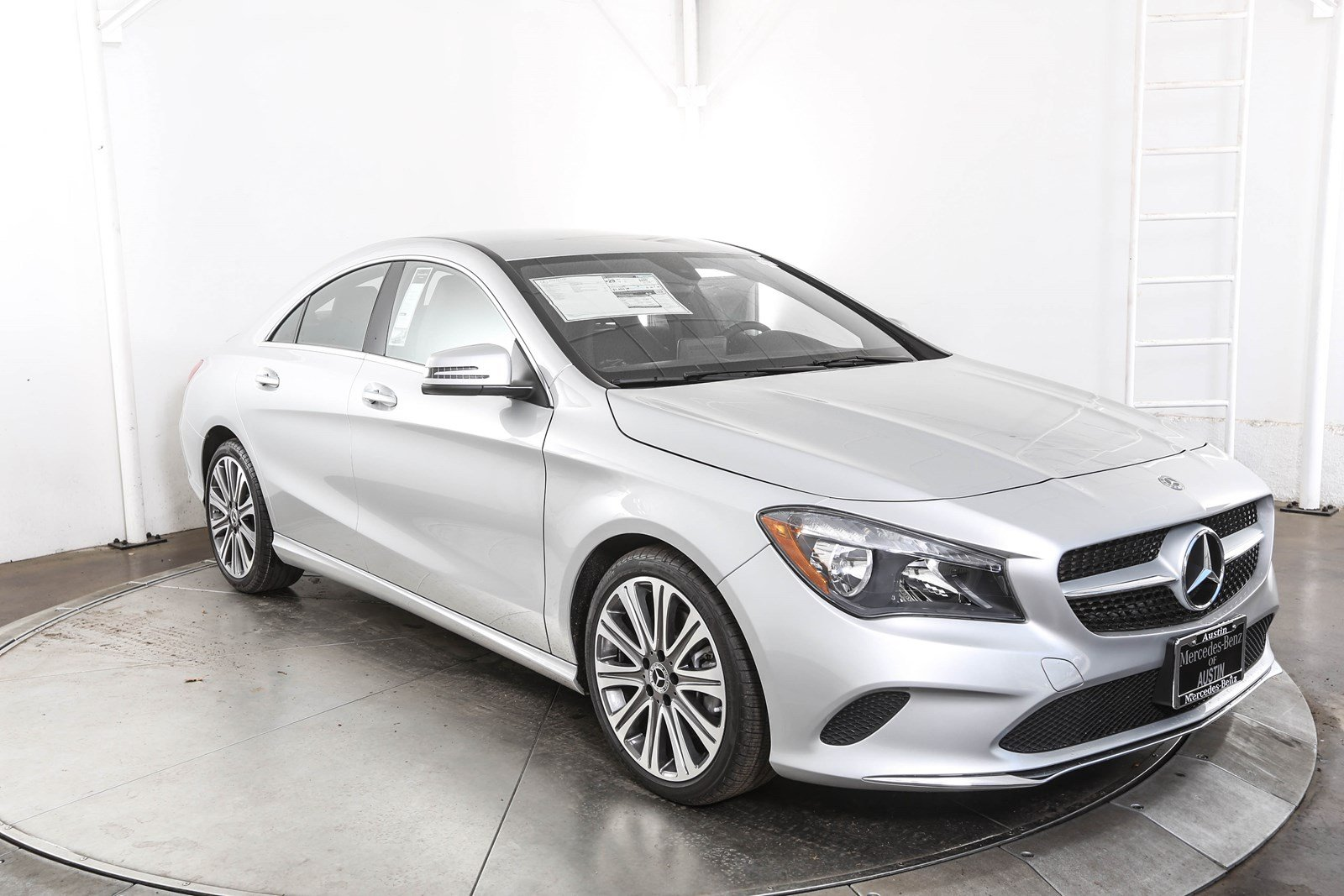 New 2018 mercedes benz cla cla 250 coupe in austin m58427 for Mercedes benz cla 250 msrp
