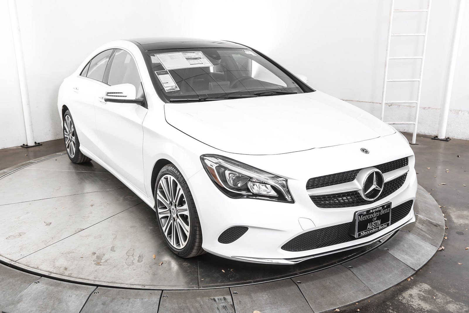 New 2018 mercedes benz cla cla 250 coupe in austin m58388 for Mercedes benz cla 250 msrp