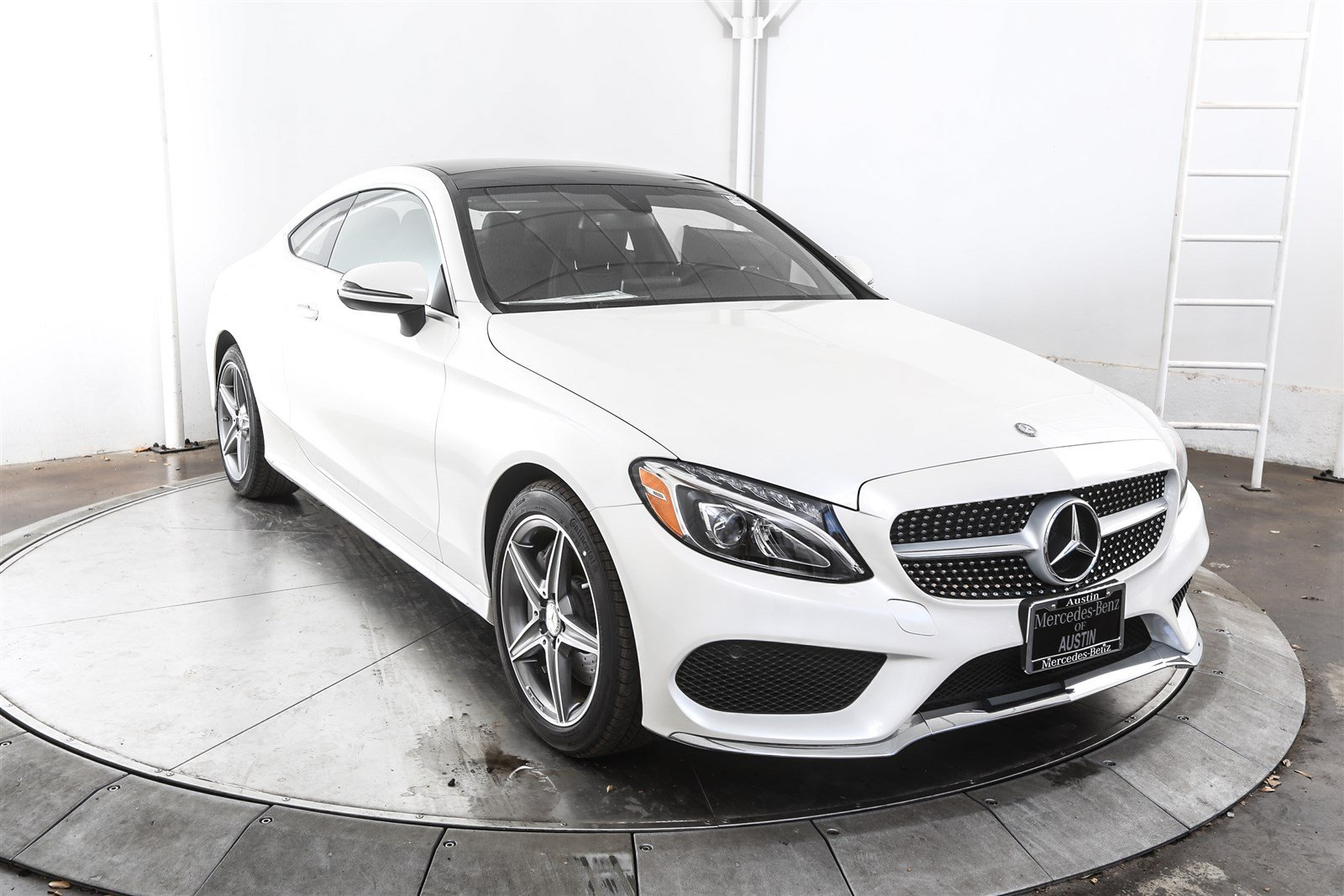 New 2017 mercedes benz c class c 300 sport coupe in austin m56408 mercedes benz of austin - Mercedes benz c class sport coupe ...