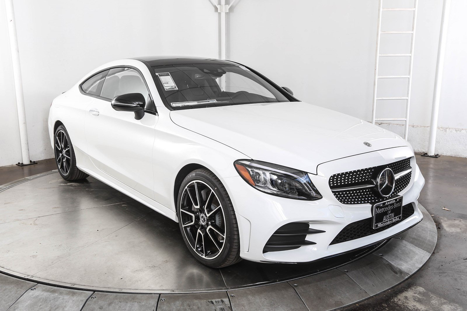 New 2019 Mercedes Benz C Class C 300 Sport Coupe In Austin M59099
