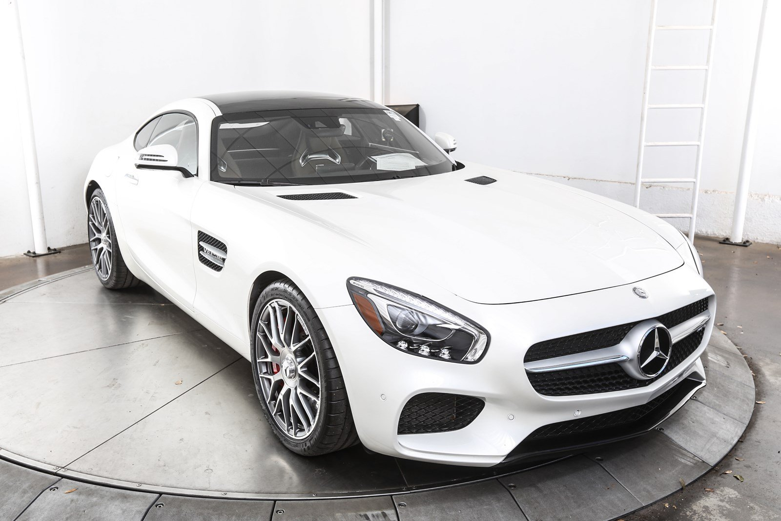 Certified pre owned 2016 mercedes benz amg gt gt s amg for Certified mercedes benz