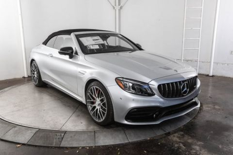 New 2019 Mercedes-Benz C-Class AMG® C 63 S Cabriolet